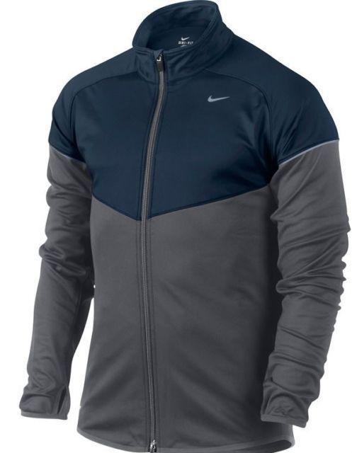 971b6466e0989 NIKE MEN'S RUNNING jacket ELEMENT THERMAL FULL-ZIP TOP STYLE 480957 ...