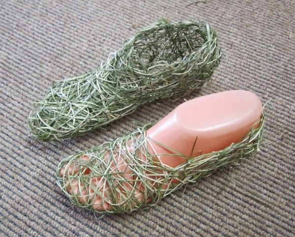"""The first 'foot' for Jillian Culey's installation, """"Tribute to Woodford Academy Boys"""""""