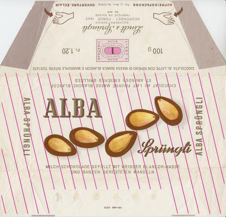 Alba  Milchschokolade mit weisser Blancor-Masse und ganzen Mandeln