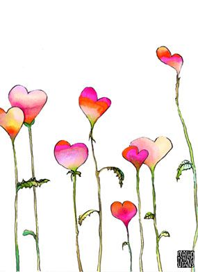 Greeting Cards, Posters, Home Decor, Apparel - Collection - heartplants