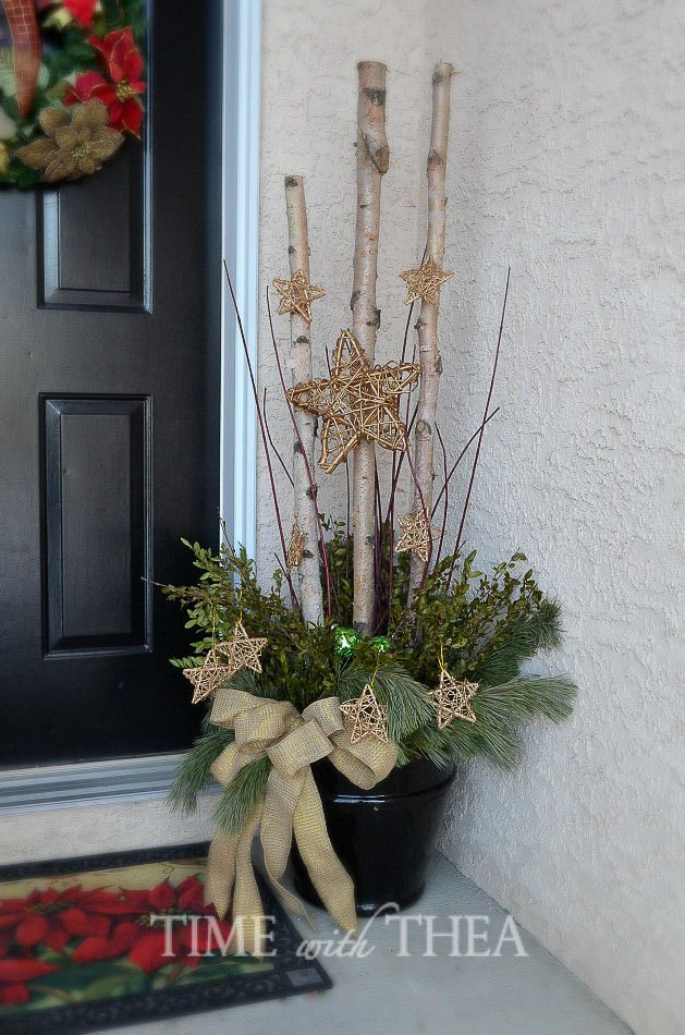 Classic And Contemporary Christmas Home Tour 2014 - Time With Thea