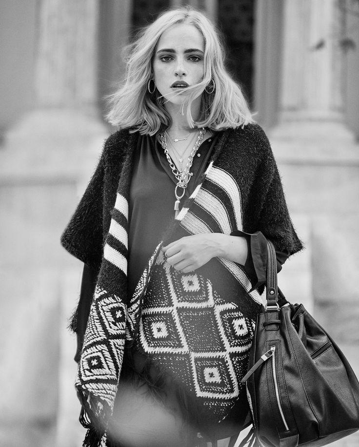 B&W #fashion #streetstyle #trend #boho #fullahsugah