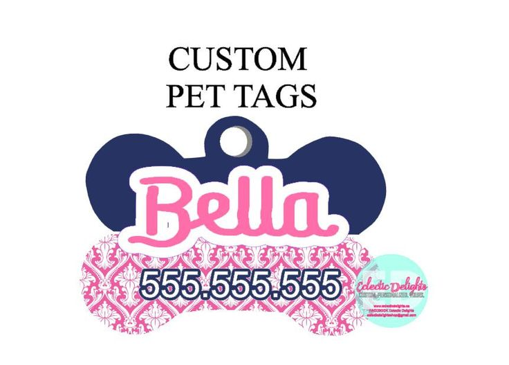 A personal favorite from my Etsy shop https://www.etsy.com/ca/listing/472174589/custom-dog-tag-personalized-pet-tag-pet