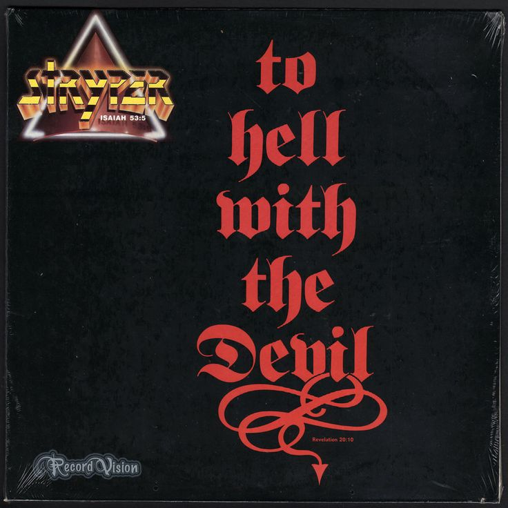 """#To #Hell #With the #Devil, by the #Christian #metal and #glam metal band #Stryper, was the first #ChristianMetal album to achieve platinum status. It remained the best-selling Christian metal album until P.O.D.'s Satellite in 2001. Throughout 1987, both music videos for """"Free"""" and """"Honestly"""" ranked #1 on #DialMTV, the daily #MTV list of most requested videos. """"Honestly"""" was the biggest single from the record peaking at #23 on Billboard's Hot 100 Singles Chart. £ToHellWithTheDevil #Vinyl #LP"""