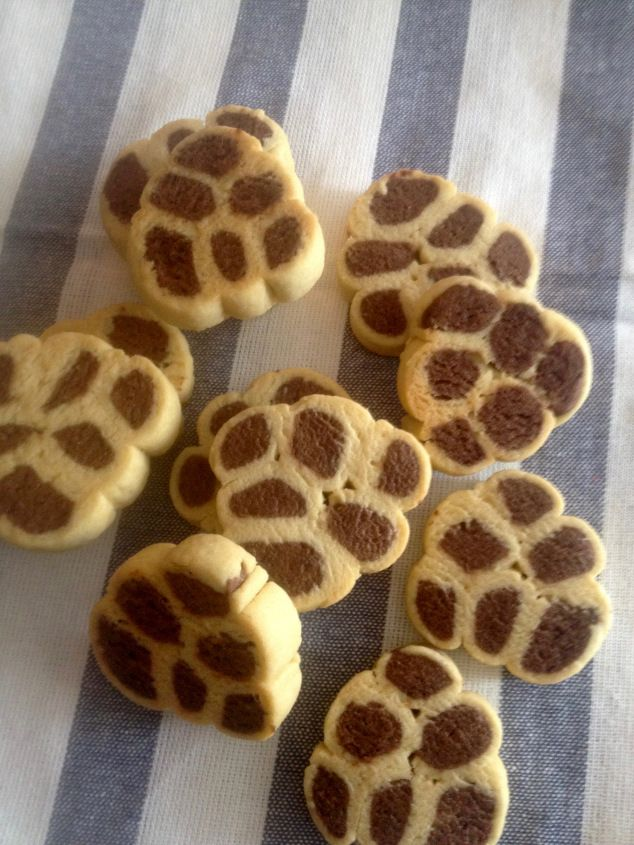 Печенье кошачьи лапы.
