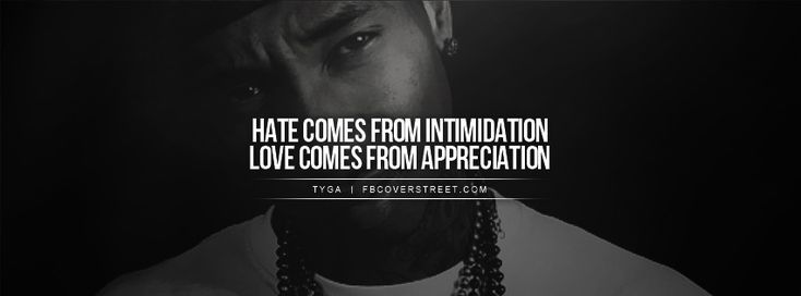 quotes+about+love+and+hate+tumblr Tyga Hate Love Quote Facebook ...