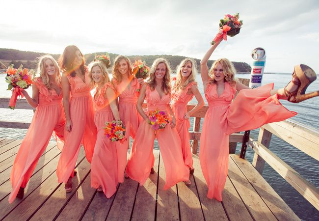 Fun bridal jumpsuits | Kelsey Combe Photography