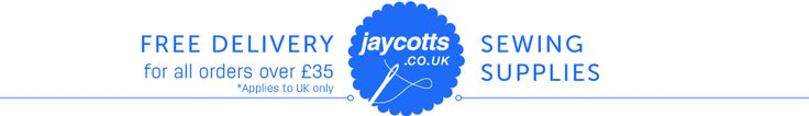 Jaycotts - Online Catalogue  There's a great selection of haberdashery and notions at good prices – you will find pretty much all you need here, and you can drool over a fab selection of sewing machines too.