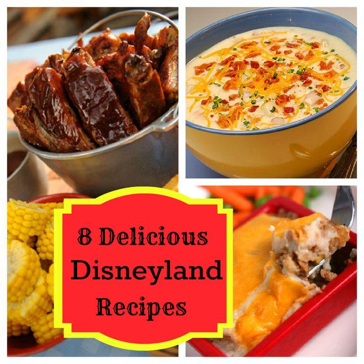 8 Delicious Disneyland Dishes You Can Make at Home: Magic Kingdom Recipes