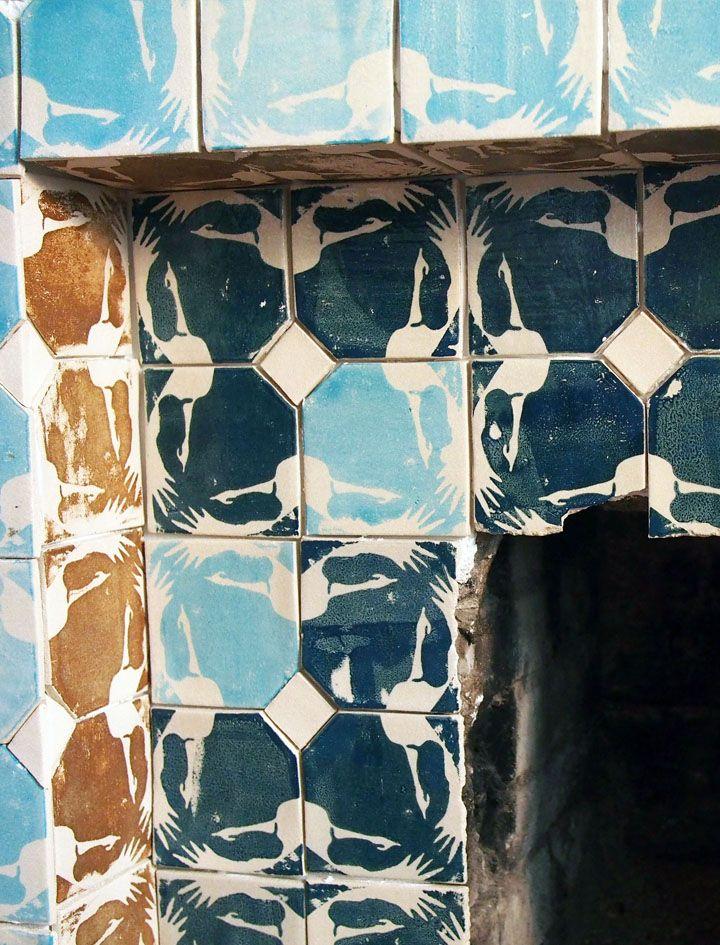 Morphing Cranes tile | Dream Homescapes | Pinterest