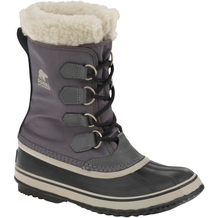Sorel Women's Winter Carnival Waterproof Winter Boots, Size: 7.5, Black