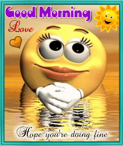 A Good Morning To Your Love Ecard.
