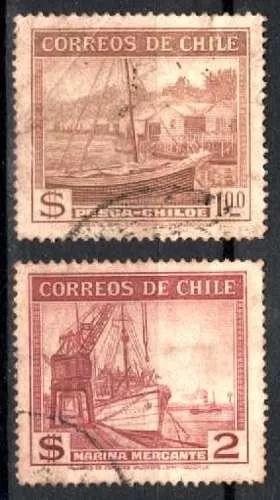chile 1938 * barco pesqueiro * marinha mercante