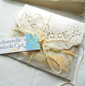 cute packaging for jewelry by Chantelle Nicole Designs
