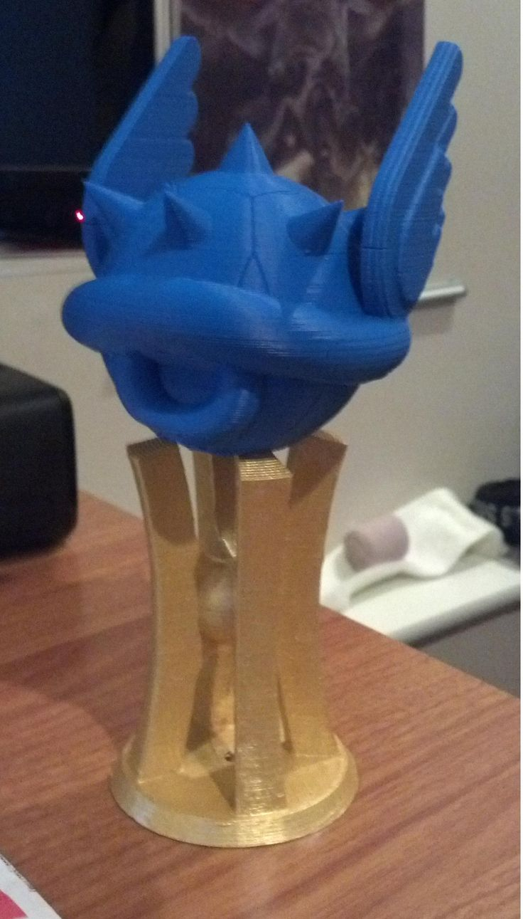 Mario Kart Blue Shell Trophy