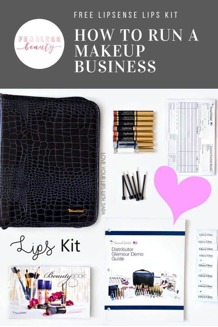 How to run a makeup business. Lip kit, Senegence, Lipsense