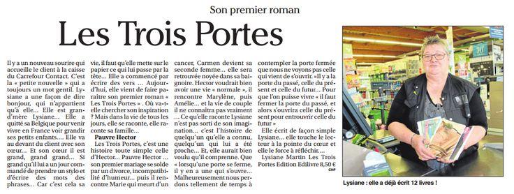 article_Le Petit Journal Lot-Et-Garonne _Lysiane MARTIN_2017_Edilivre