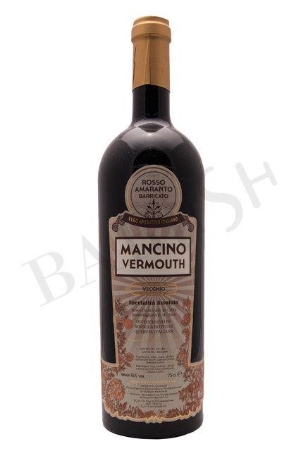 BarFish - Mancino Vermouth Vecchio Rosso Amaranto Barricato (Fassgelagerter…