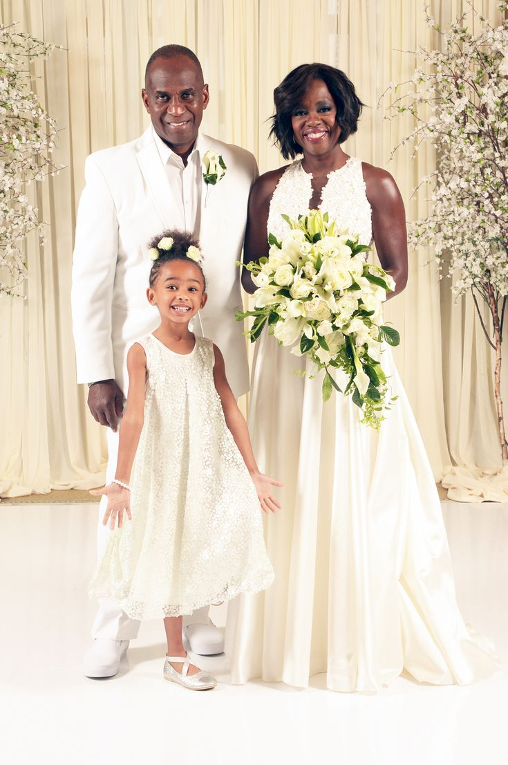 Exclusive: All About Viola Davis's Wedding Vow Renewal Look - The Family  - from InStyle.com