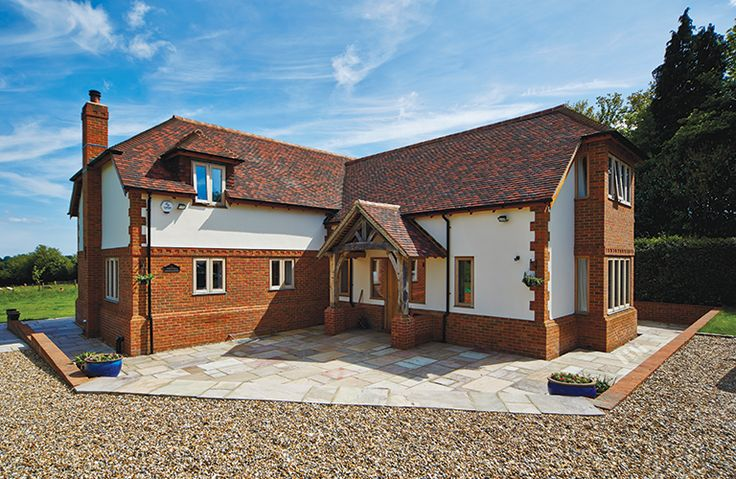 4 bedroomed self build homes Traditional self builds