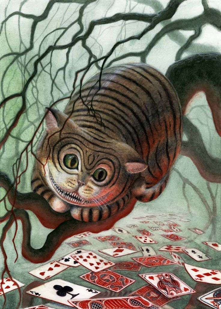 CHESHIRE CAT BY BRIAN WOODWARD