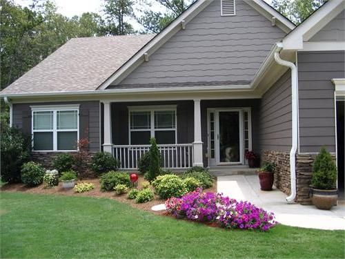 45 best images about ranch style house landscaping ideas ...