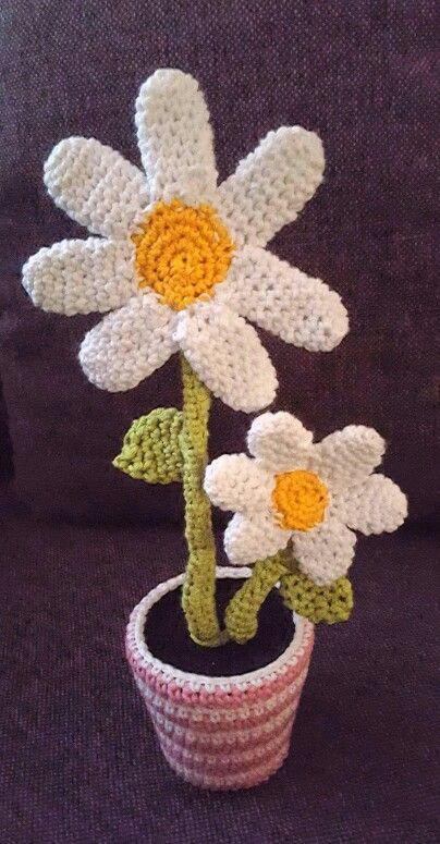 Arigurumi-Blumen