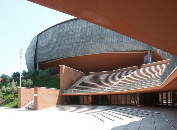Sala Santa Cecilia : Auditorium Parco della Musica, Rome (2002)   Renzo Piano