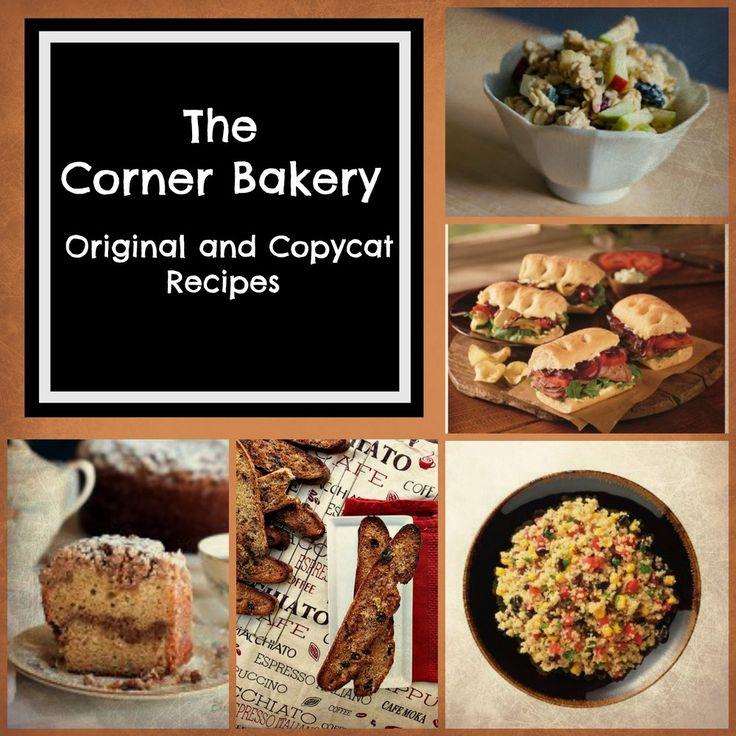 10 Original and Copycat Recipes from the Corner Bakery Menu | Love Corner Bakery? Try these easy copycat recipes!