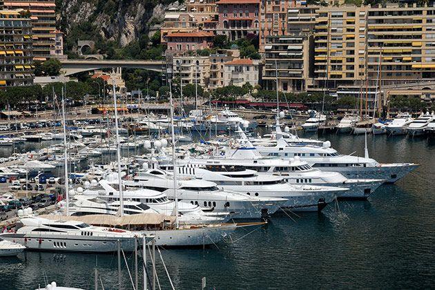 Formula 1 Monaco Yacht hospitality