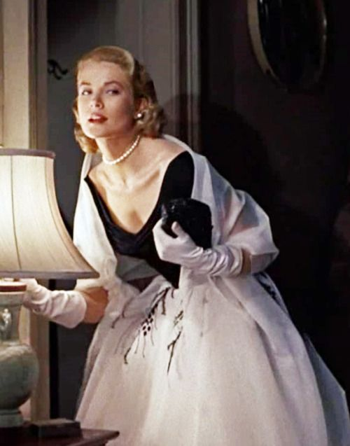 Grace Kelly in Edith Head design - 'Rear Window', 1954.