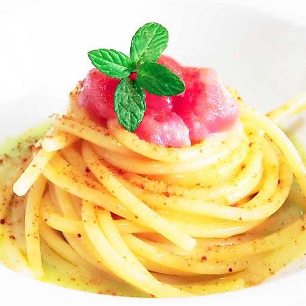 Primi piatti, le ricette di Alfredo Iannaccone. Tutti i vapori di un tonno