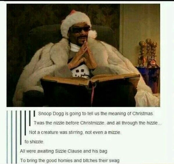 Snoop Dogg Christmas story. I can't handle this!   Funny junk ...