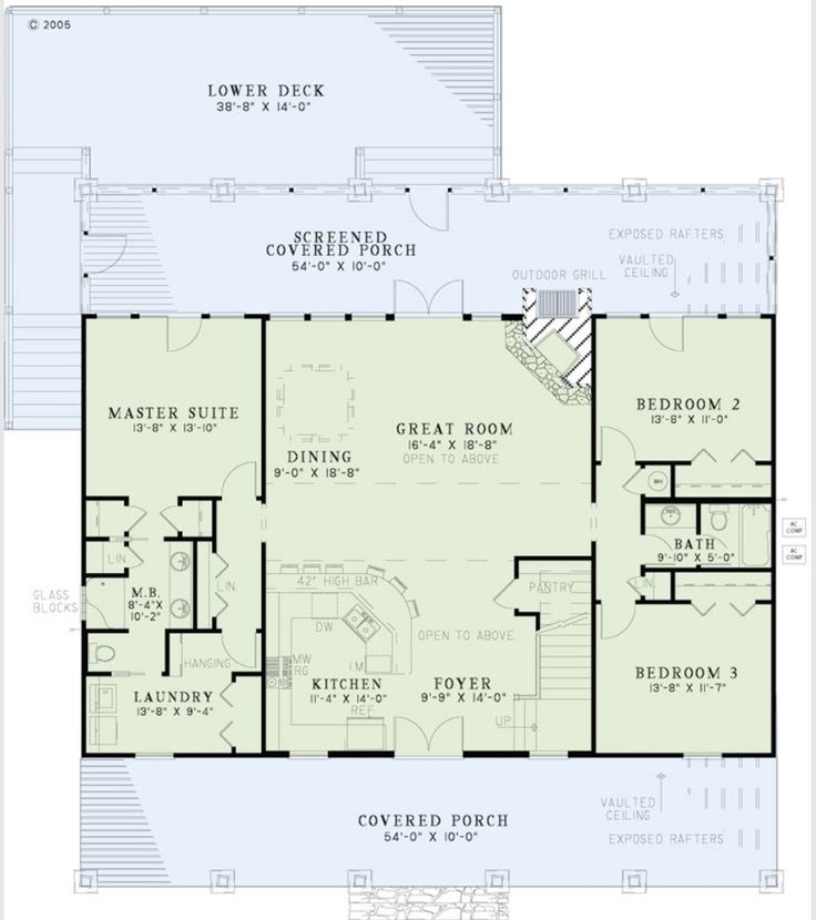 Convert Two Story Foyer To Bedroom : Best images about sq ft plans on pinterest ranch