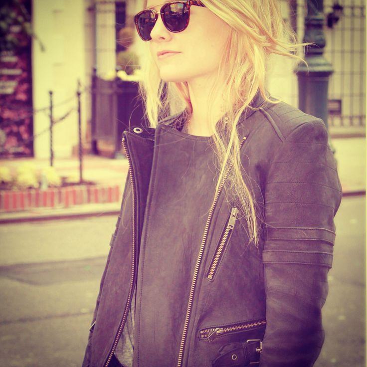 Wilfredfree leather jacket