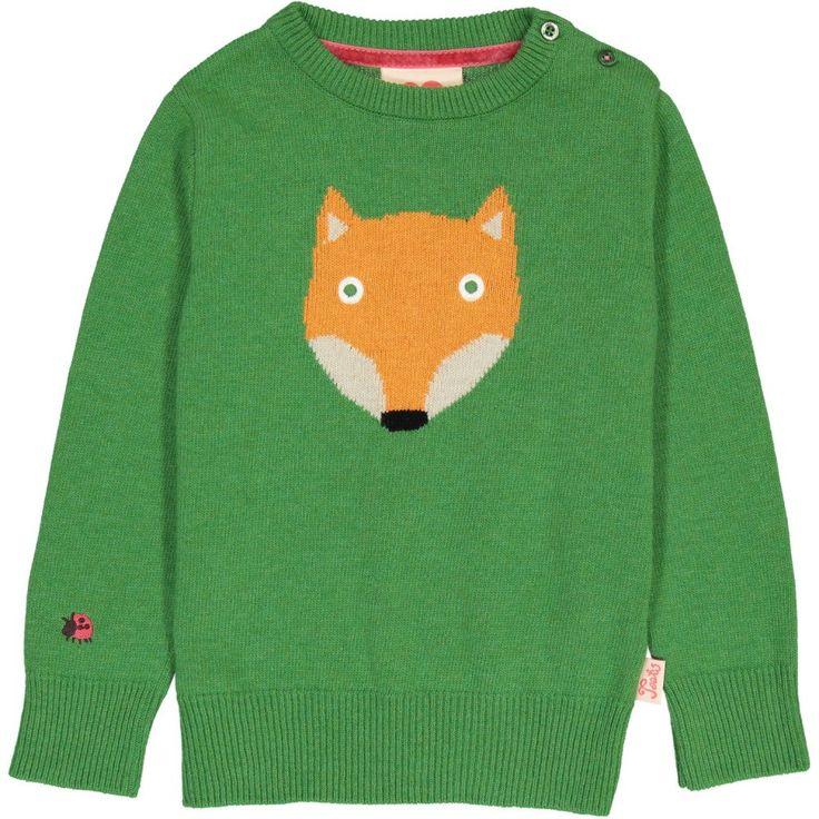 FOX Jacquard Knit / Kelly Green