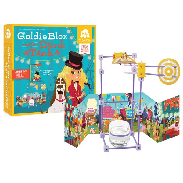 GoldieBlox and the<br>Dunk Tank