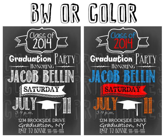 113 best modern graduation invites signs images on pinterest httpsetsylisting186198432custom graduation invitations chalkboard graduation chalkboard invites for all graduates custom graduation filmwisefo Image collections