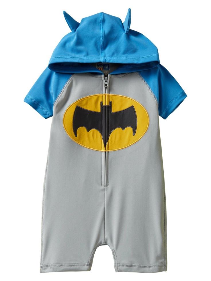 batman baby - i think our little guy might need this :): Hoods One Pieces, Batman Rashguard, Batman Baby, One Pieces Rashguard, Bath Suits, Future Kids, Baby Clothing, Baby Boys Clothing, Baby Stuff