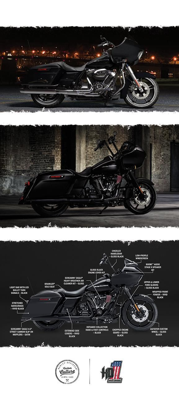 Low-profile style that makes a loud statement. | 2017 Harley-Davidson Road Glide Special