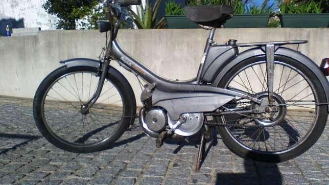 Mobylette av42s ano 1965 mobilete motobecane