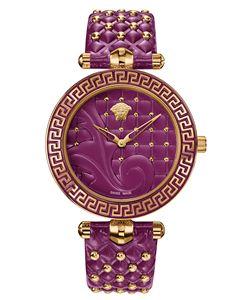 Versace Versace Vanitas  Purple Watch