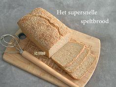 supersnelle speltbrood, niet-kneden brood, recept, makkelijk, snel, zelf maken, bakken, oven, spelt, gezond, ontbijt, lunch, brunch, bijgerecht, tussendoor