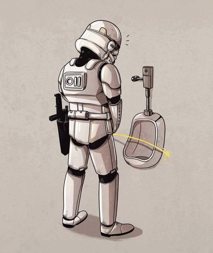 Stormtroopers miss every time