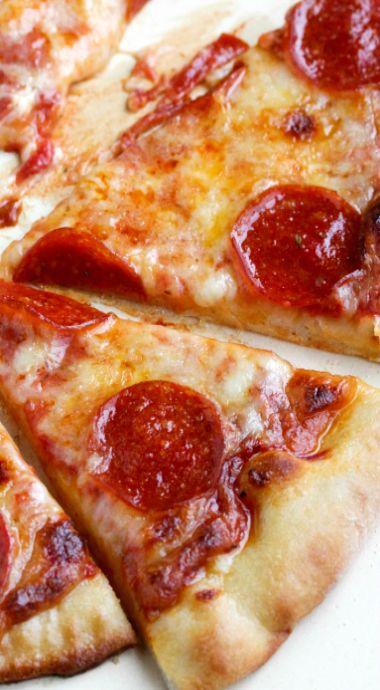 Pepperoni Pizza - Pizzeria Style