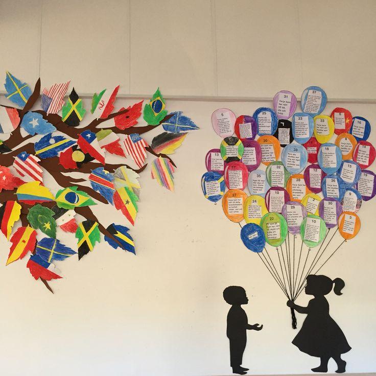 UN, Craft, UN day, barnkonventionen
