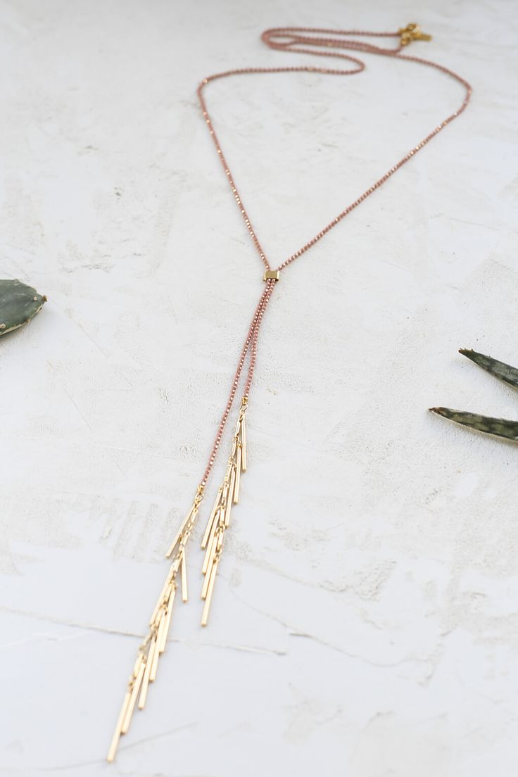 Festival Necklace by Shlomit Ofir from the Palm Springs Jewelry Collection.  Inspired by Coachella.