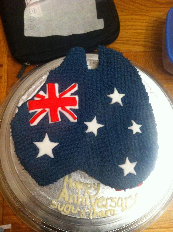 Thara and Sugu's Anniversary Cake