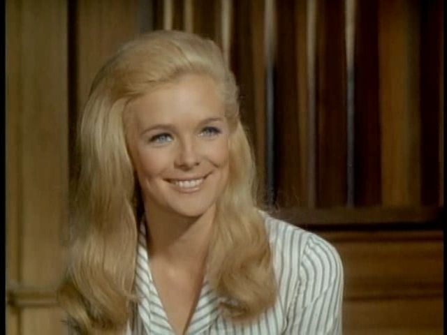 Probably my favorite female character from all of the old tv westerns. :)  Audra Barkley from the Big Valley aka actress Linda Evans