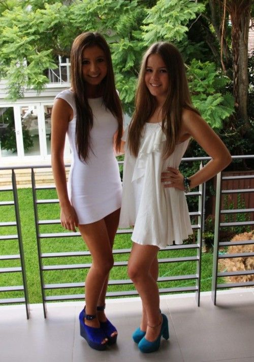 Chicas adolescentes desnudas descanso de primavera